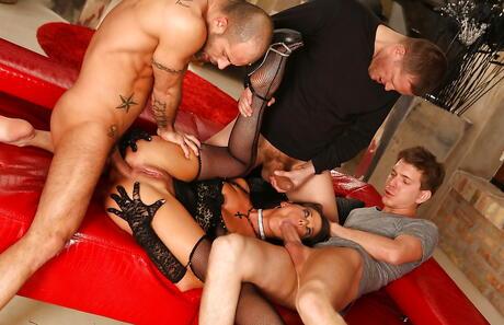 Gangbang Sex Pics